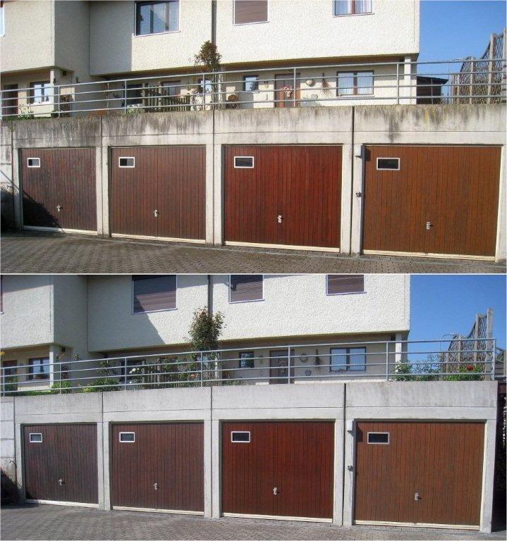 VORHER und NACHHER - Betonreinigung Garagen - stc umwelt ag