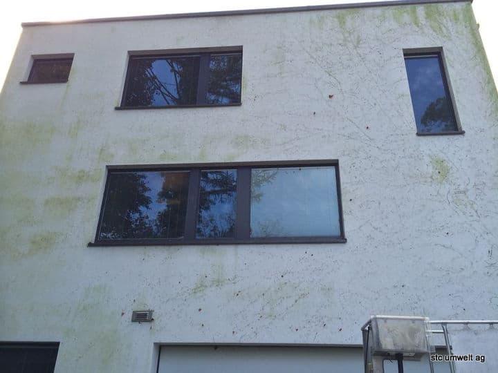 VORHER - Fassadenreinigung - stc umwelt ag